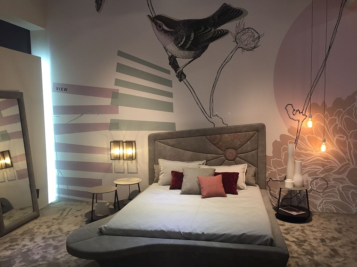 Fun bed design on display at Salone del Mobile 2016 moves away from the mundane