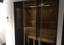 Futuristic Sauna from KLAFS Saunas & Spa