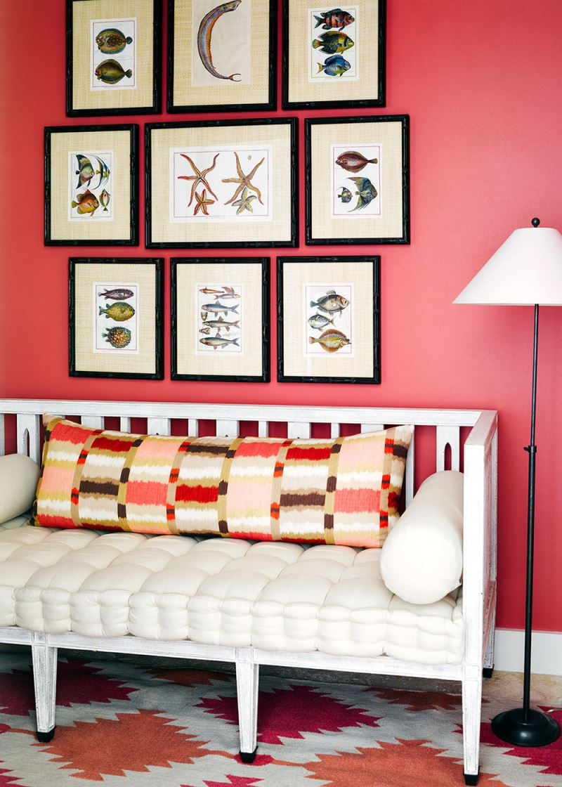 Gallery wall accent wall