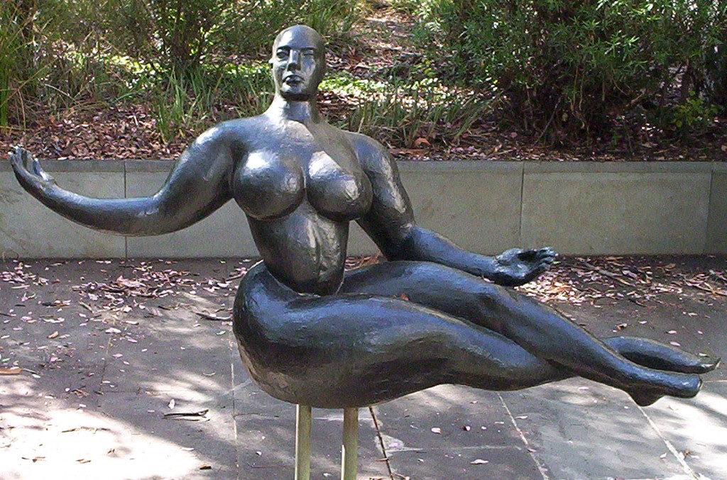 Gaston Lachaise's 1927 Floating Figure. Image © 2016 Eames Office, LLC.