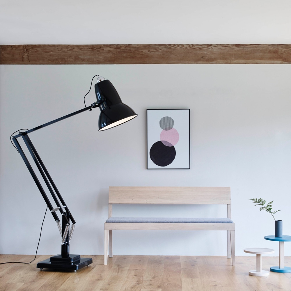 Anglepoise the quintessence of great british design - Giant anglepoise lamp ...