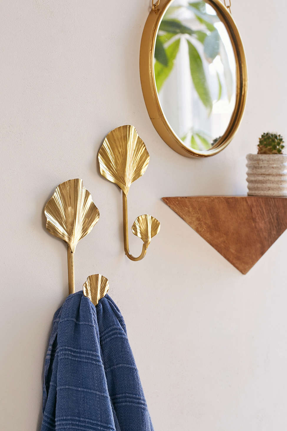 Ginkgo wall hooks from Urban Outfitters