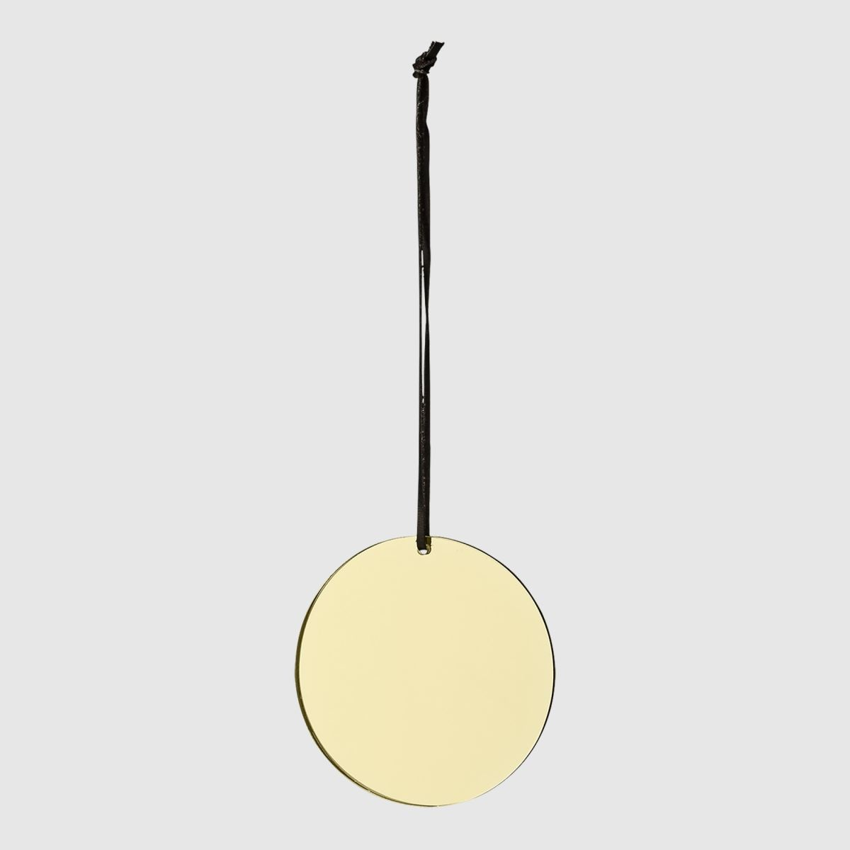 Gold mirror ornament from AYTM