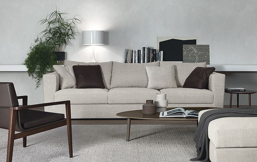 Gorgeous Rene Sofa is perfect for the small modern living room