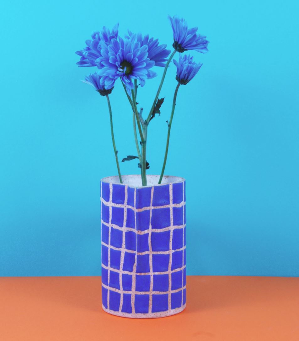 Grid Vase from Recreation Center