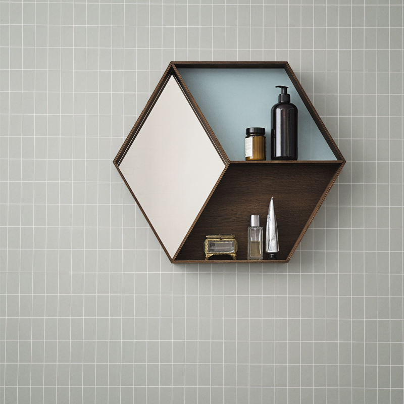 Grid wallpaper from ferm LIVING