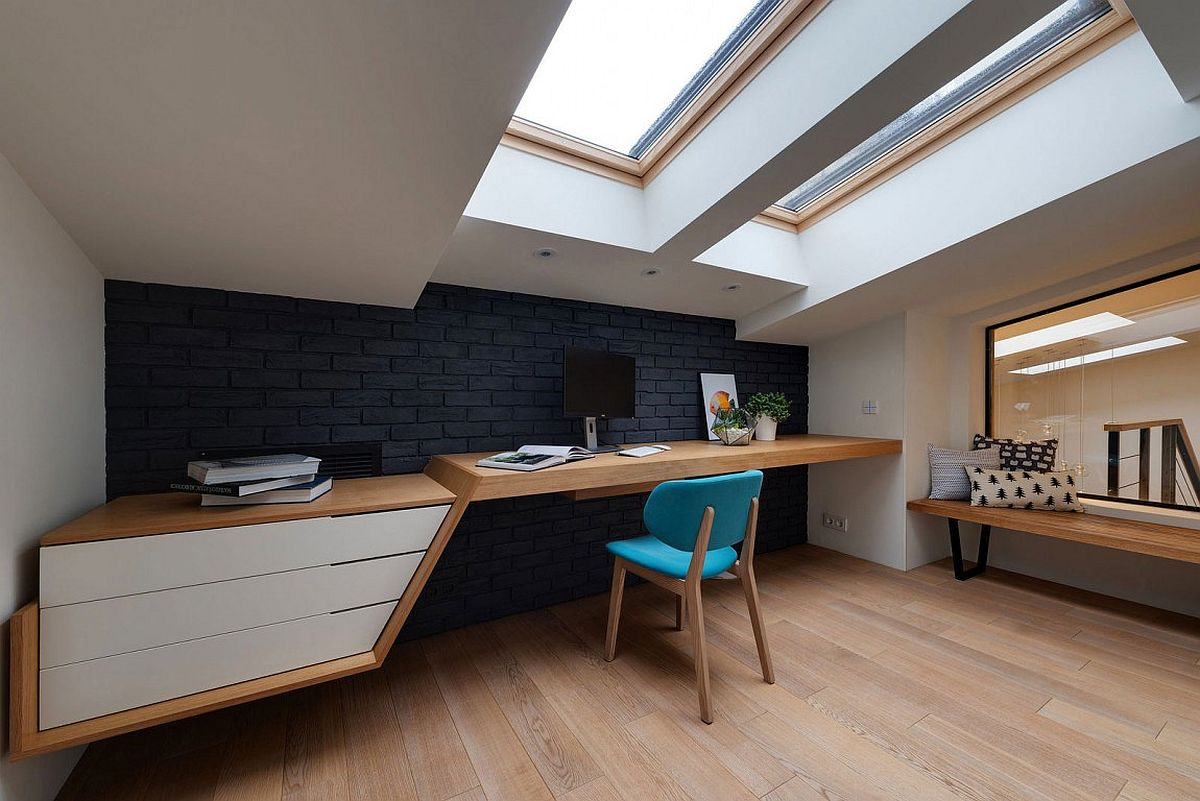 Home office keeps away noise and offers ample privacy