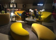 Inspiration from Montbel for contemporary living space with hotel inspired look