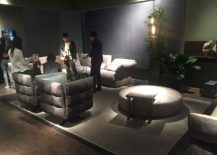 Latest line up of sofas and club chairs from cierre at Milan 2016