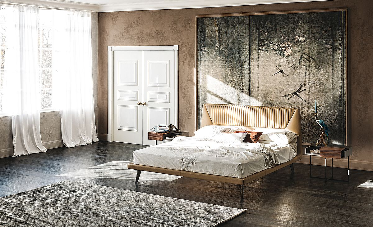 Luxurious Amadeus bed designed by Manzoni e Tapinassi