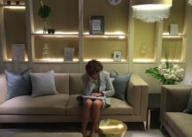 Luxurious living room decor from Paolo Castelli on displat at Salone del Mobile 2016