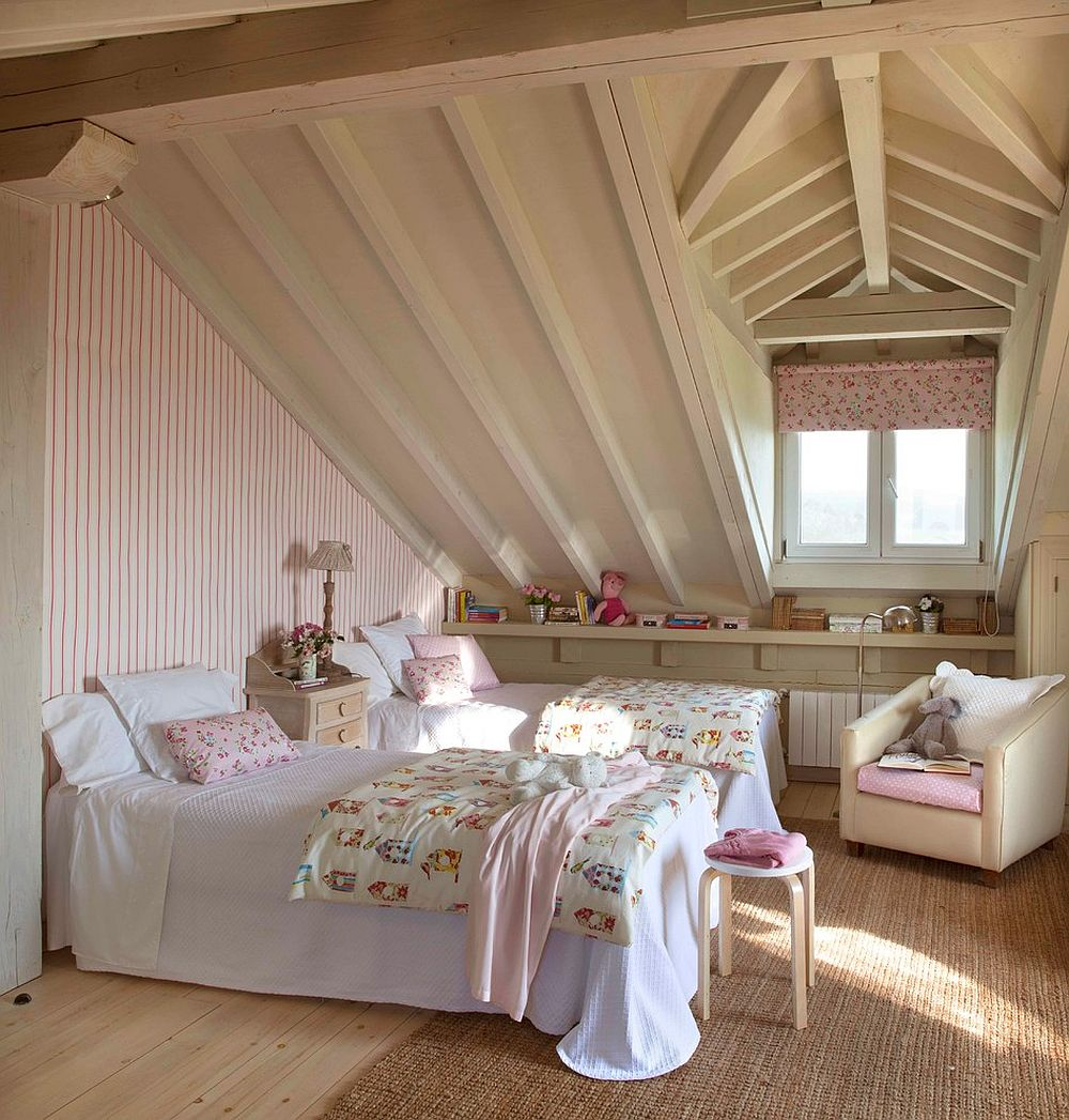 Making most of attic space with innovative and sensible design [From: Dafne Vijande]
