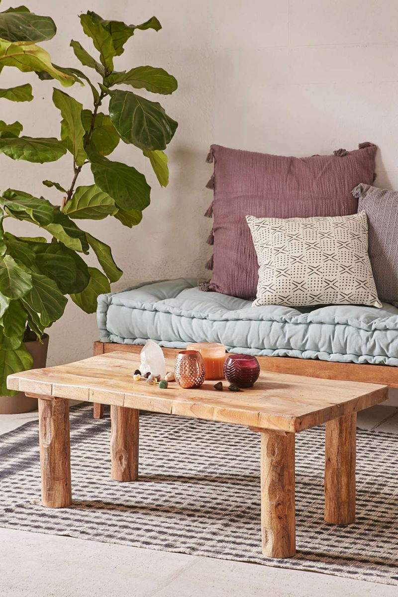 Mango wood coffee table from Urban Outfitters