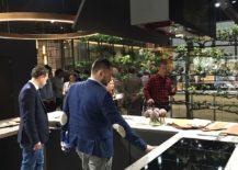 Marble kitchen countertops make a big splash at EuroCucina 2016