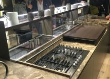 Maximizing stoarge and display space for the kitchen island