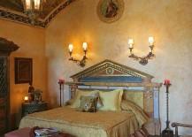 Mediterranean bedroom ceiling tells a fascinating story!