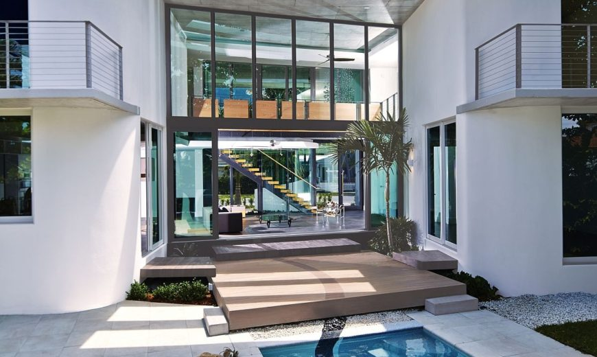 Contemporary Home in Miami Beach: MiMo Style Reinvented with Class