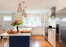 Mixed metals is a hot trend in the modern kitchen
