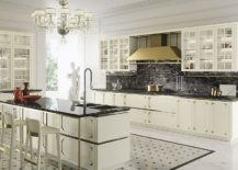 Modern and classic elements fused inside charming kitchen from Snaidero 217x155 Kelly: Chic Modern Kitchen Wrapped in Intricate, Timeless Panache