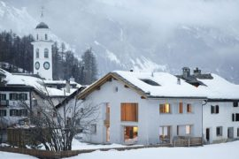 In the Majestic Shadow of Alps: Cozy Home Renovation in Sils im Engadin