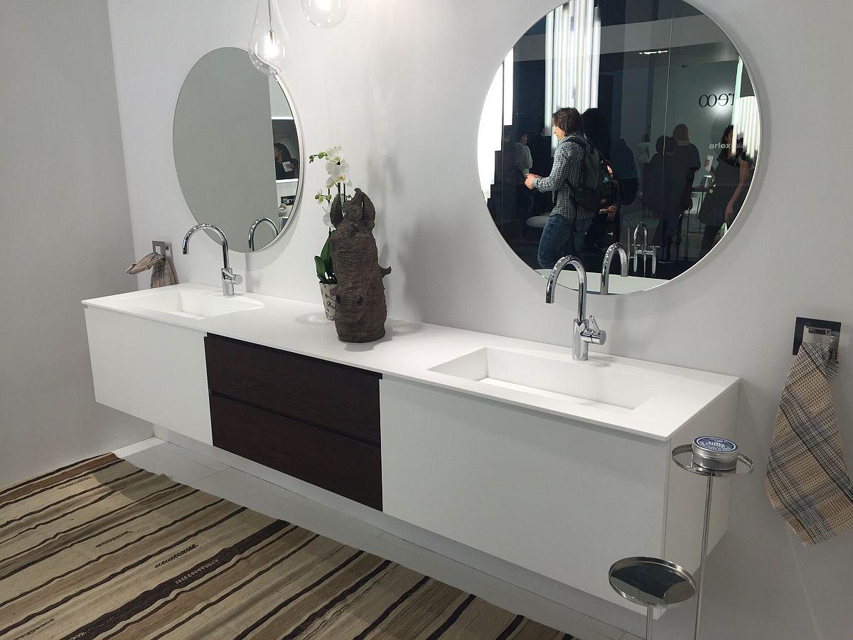 Modern bathroom vanity design from ArlexItalia