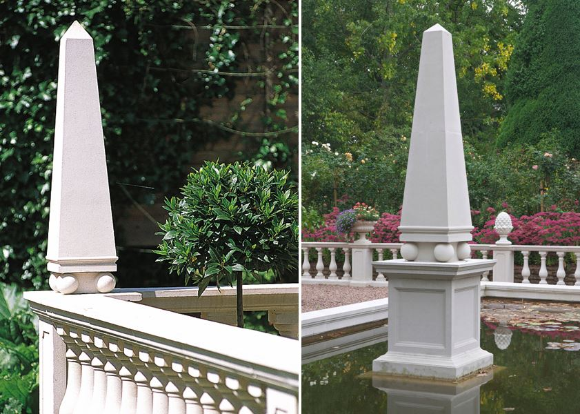 Obelisks from Haddonstone