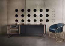 Octavo cabinet and Equipal chair