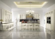 Old world charm meets modern functionality inside Kelly Kitchen from Snaidero