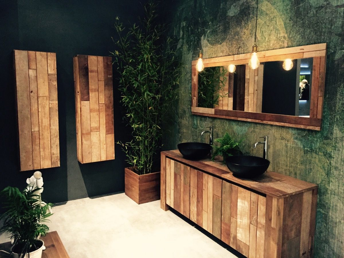 Organic beauty of bathrooms from IDIStudio 60 Inspiring Bathroom Décor Ideas Seen at Salone del Mobile 2016