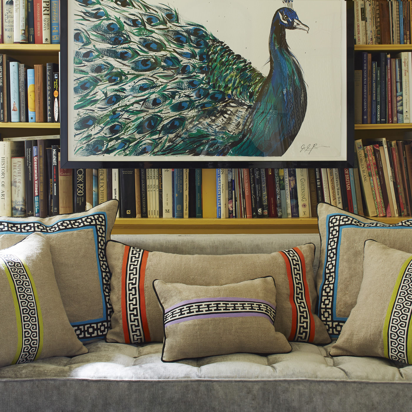 Palm Springs pillows from Jonathan Adler