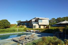 Hillside Delight: Contemporary Farm House Takes Shape on Martha's Vineyard