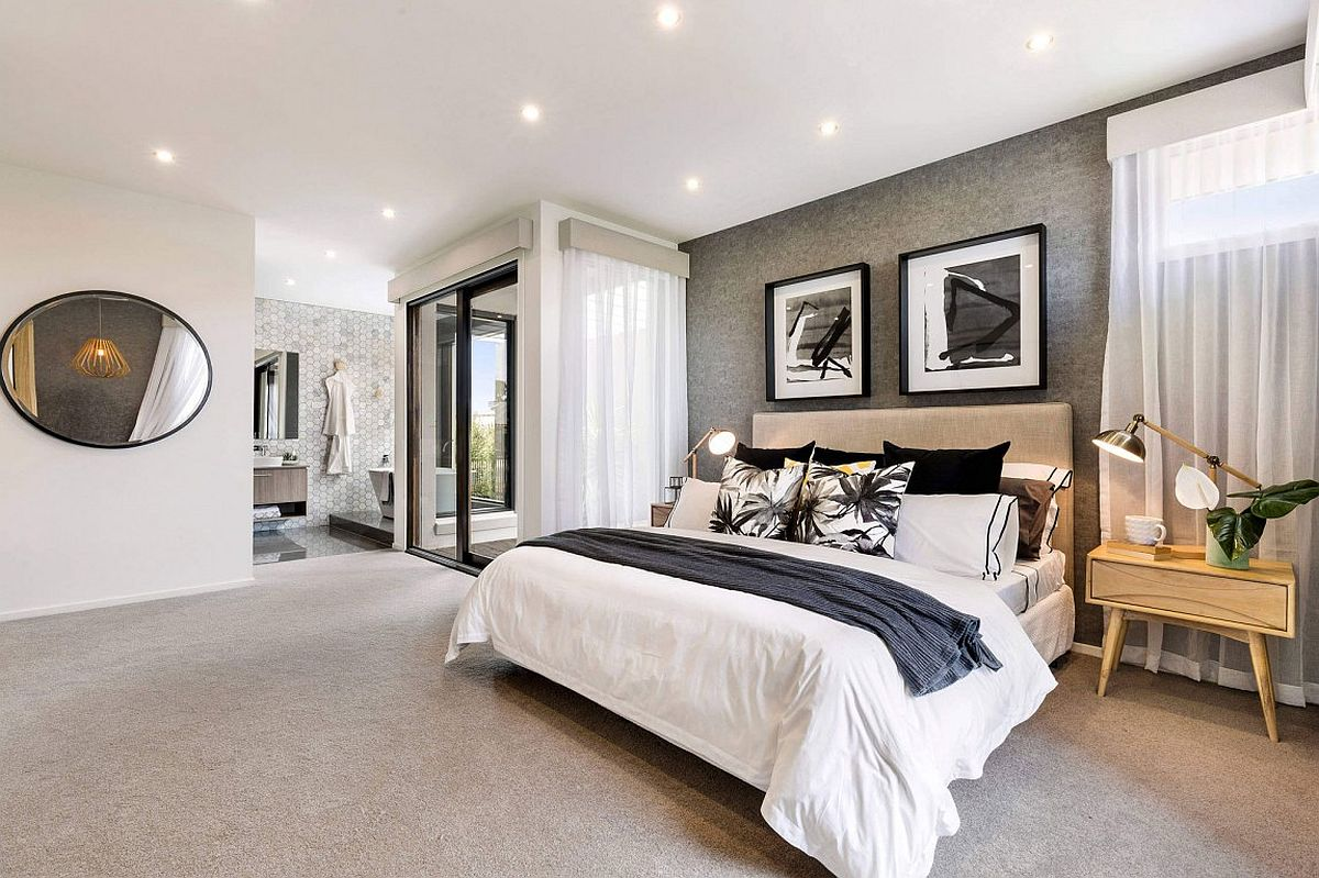 Botanica 32 breezy home down under built for relaxed for Display bedroom ideas