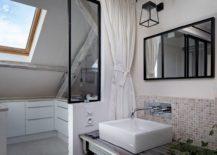 Renovated rustic modern apartment in Paris
