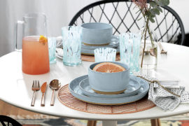 Stylish Chargers for a Festive Table