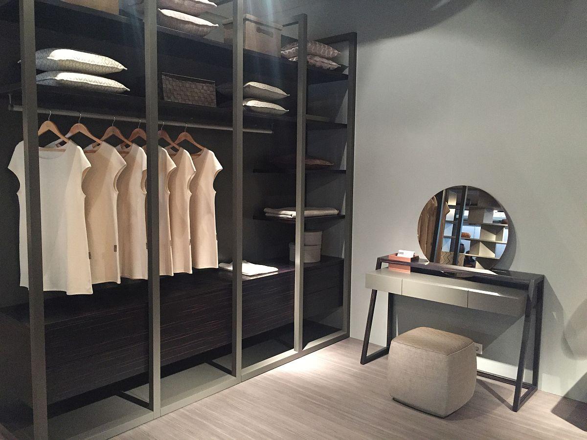 Sleek and ergonomic bedroom wardrobe from Vanguard Concept