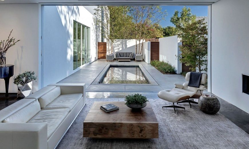 Giving the Courtyard Home an Urban Twist: Casa di Luce in Dallas
