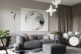 Apartment Ernst in Kiev: Inspired by Posh Hotel Ambiance