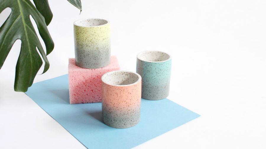Speckled ceramics from Lindsey Hampton