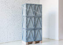 Stone cabinet from Fort Standard