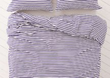 Striped bedding from Urban Outfitters