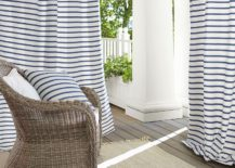 Striped curtains from Pottery Barn 217x155 Simple Stripes for Summer