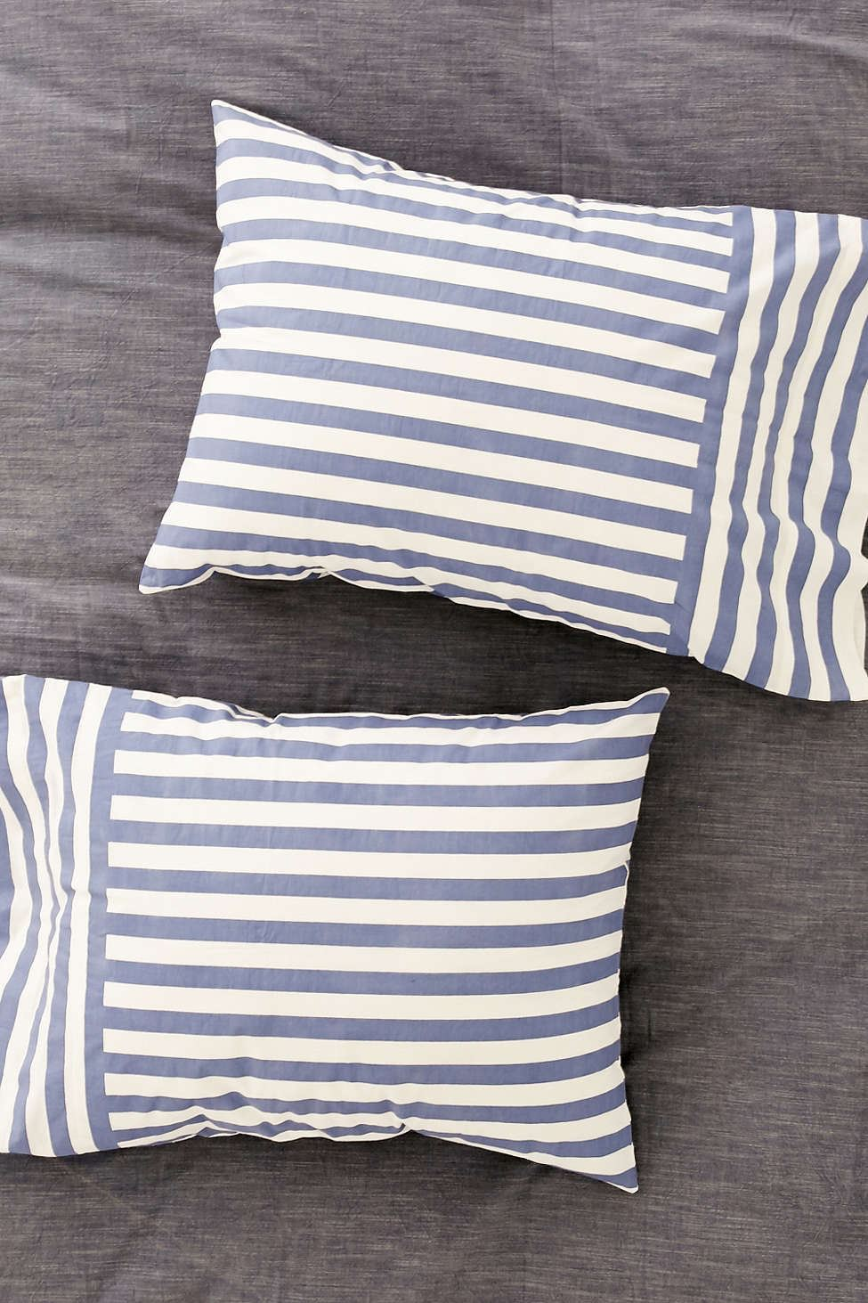 Striped pillowcases from Urban Outfitters