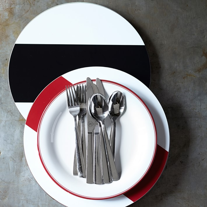 Striped placemats from Williams-Sonoma