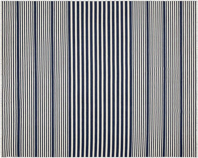 Striped rug from Pottery Barn