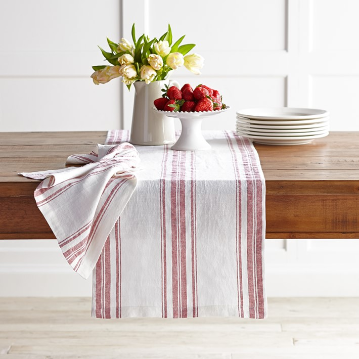 Striped runner from Williams-Sonoma