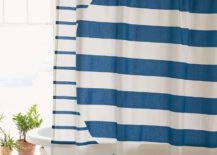 Striped shower curtain from Urban Outfitters