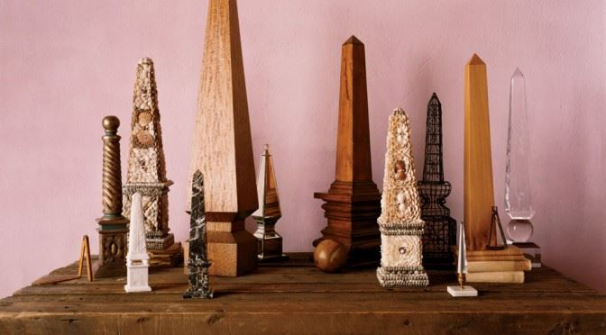 Stunning obelisk collection