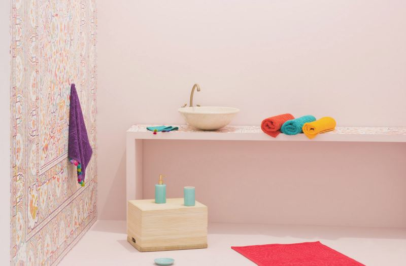 Summer bathroom style from Zara Home