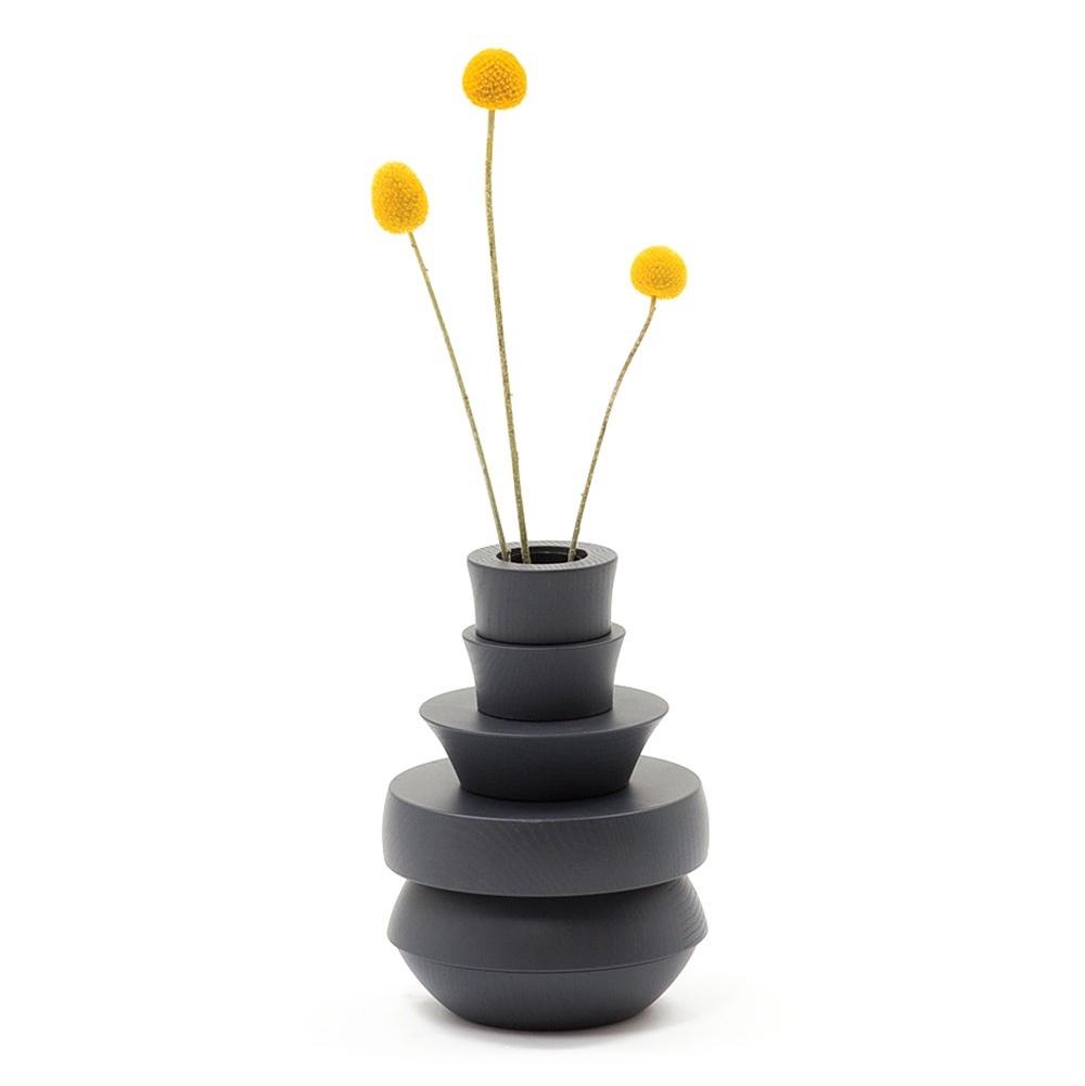 Toy Vase in coloured grey ash.Image© 2016 Discipline.