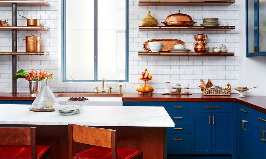 Sparkling Trend 25 Gorgeous Kitchens With A Bright Metallic Glint